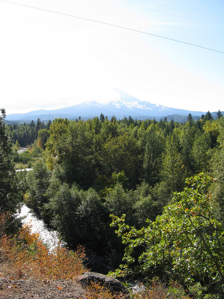 Mount Adams from State Road 35