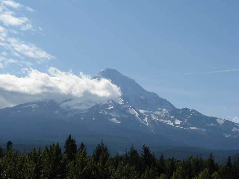 Mount Hood from State Road 35