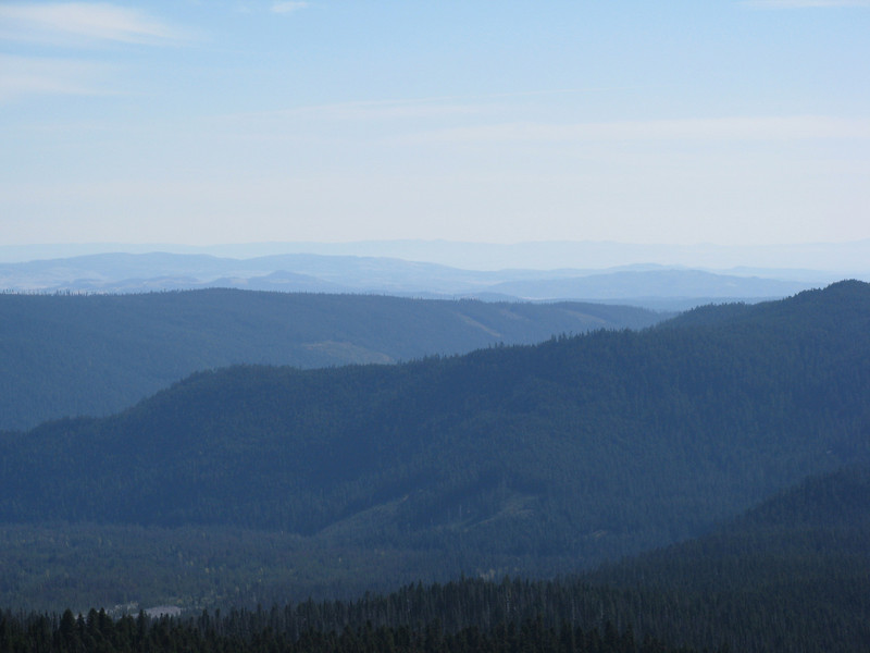 from Timberline Lodge Road.