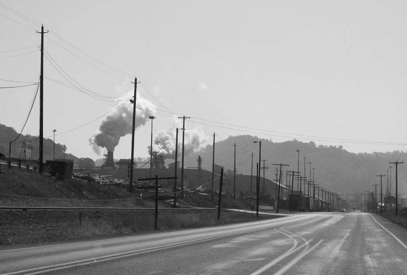 0098 Lumber Mill bw