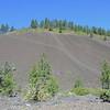 Cinder cone at Lava Butte, near Sun River, OR