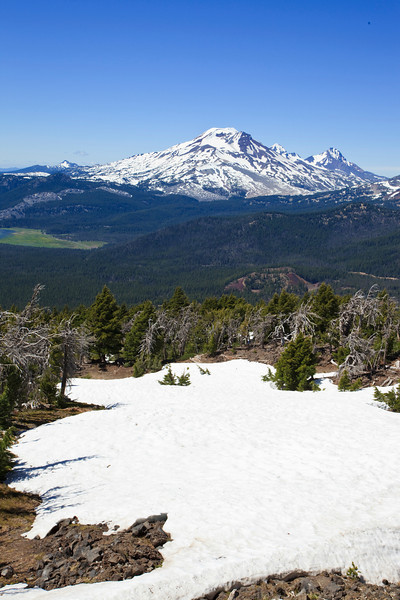 South Sister from Mount Bachelor