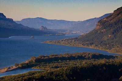 Columbia River, Columbia River Gorge, Oregon
