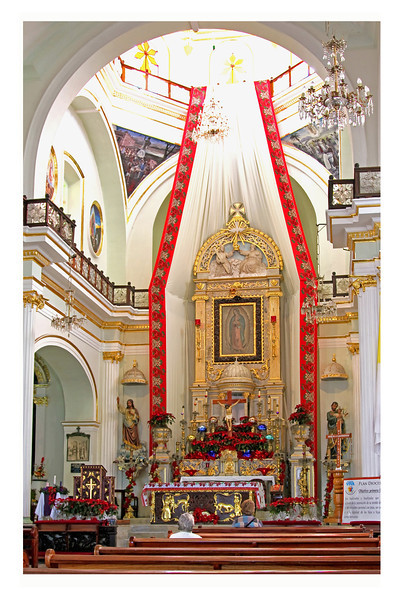 One of Puerto Vallarta's beautiful churches.