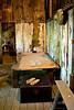 Bamboo Mat Bed<br /> <br /> Historic Joss House, Weaverville, CA