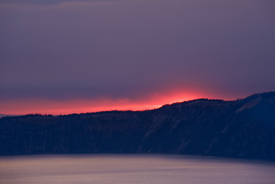 Morning Light, Crater Lake, OR