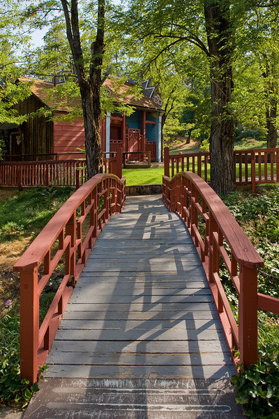 Bridge to Serenity<br /> <br /> Historic Joss House, Weaverville, CA