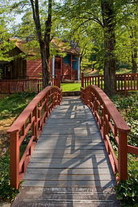 Bridge to Serenity  Historic Joss House, Weaverville, CA