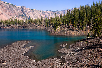 Fumarole Bay, Wizard Island, Crater Lake, OR