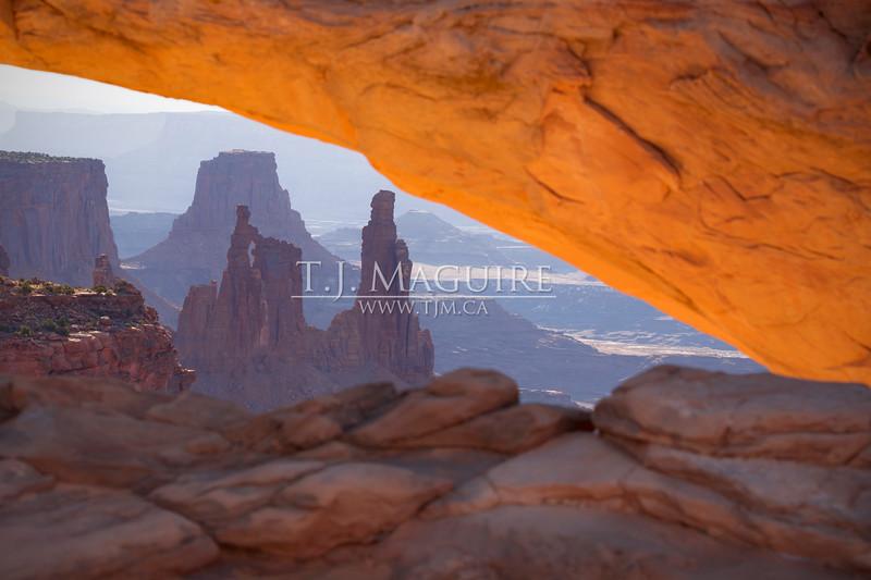 Dragon's Eye, Mesa Arch, Utah