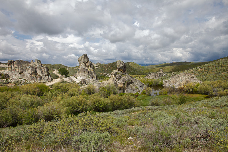 Castle Rocks Idaho
