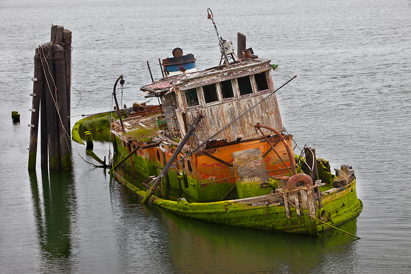 The Mary D. Hulme, Gold Beach, Oregon