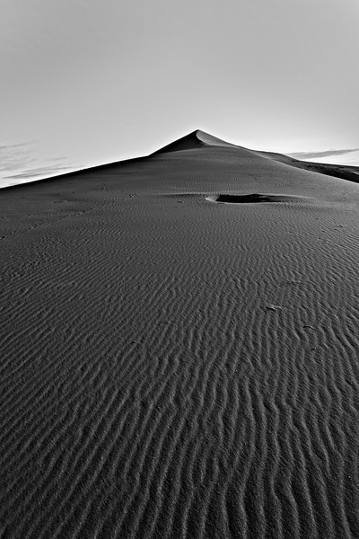 Bruneau Dune in Black and White
