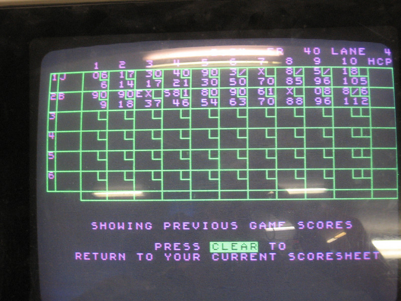 We celebrated my birthday with a trip to a bowling alley in Florence, followed by dinner at an excellent little restaurant. I won the other game.