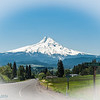 View approaching the Mountain from Hood River, Oregon