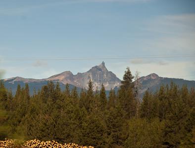 Eastern Oregon, entering the Cascades