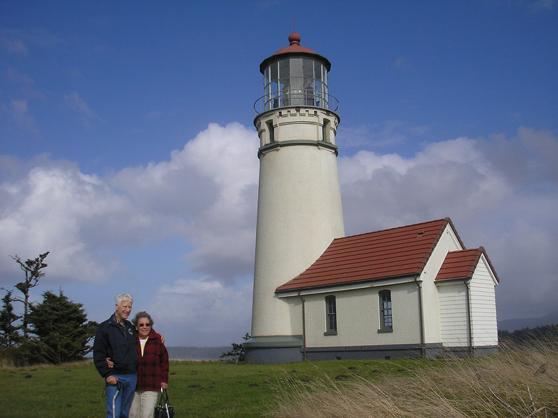 See Dad and Gloria made it from Des Moines, WA down to Cape Blanco, OR.