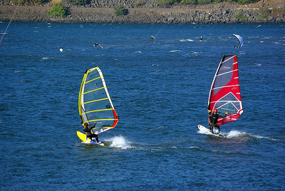 Wind Surf sailing - Oregon