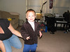 "Seth trying on his new ""Wedding Suit"" for Justin and Caitlen's wedding."