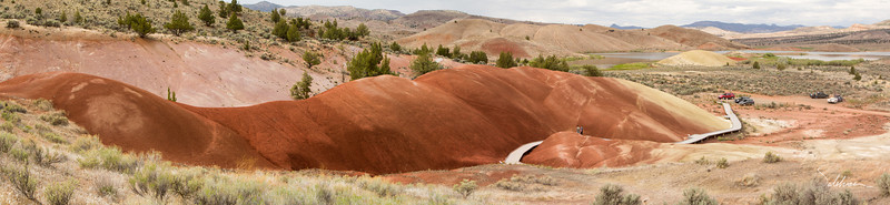 Painted Cove trail, Painted Hills Unit