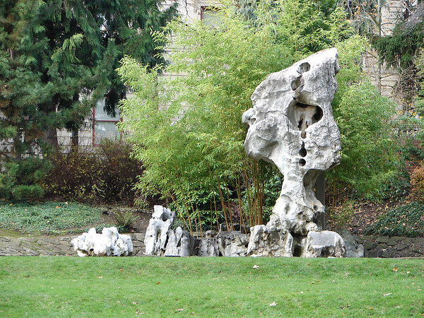 Interesting formations in a park in Portland.