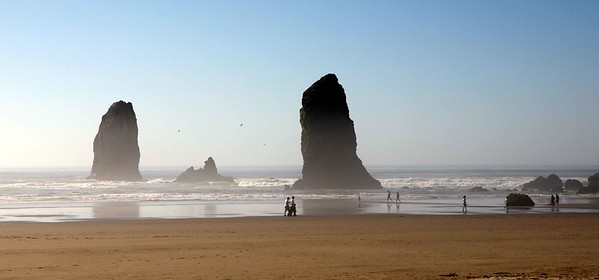 Haystack Rock at Cannon Beach on the Clatsop County section of the Oregon coast is known for its seabird nesting, its tide pools and the character it brings to one of the state's most popular beaches.