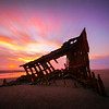 Them bones. The wreck of the Peter Iredale