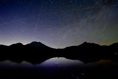 Sparks Lake Star Trails, Bend, OR