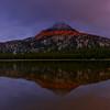Sunset and Storm, Gunsite Peak, Anthony Lake, Oregon.