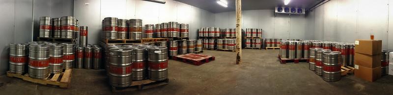 Buoy beer keg room