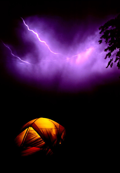 Lightning storm while camping at Owyhee lake, Eastern Oregon.<br /> <br /> © Douglas Remington - Ethereal Light® Photography, LLC. All Rights Reserved. Do not copy or download