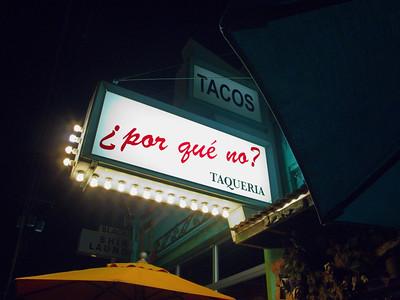 por que no? restaurant