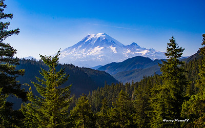 Mt Rainier, 40 miles away
