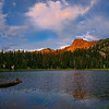 Sunrise, Elhorn Mountains, Oregon. 360 panorama.