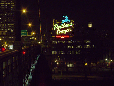 portland oregon neon