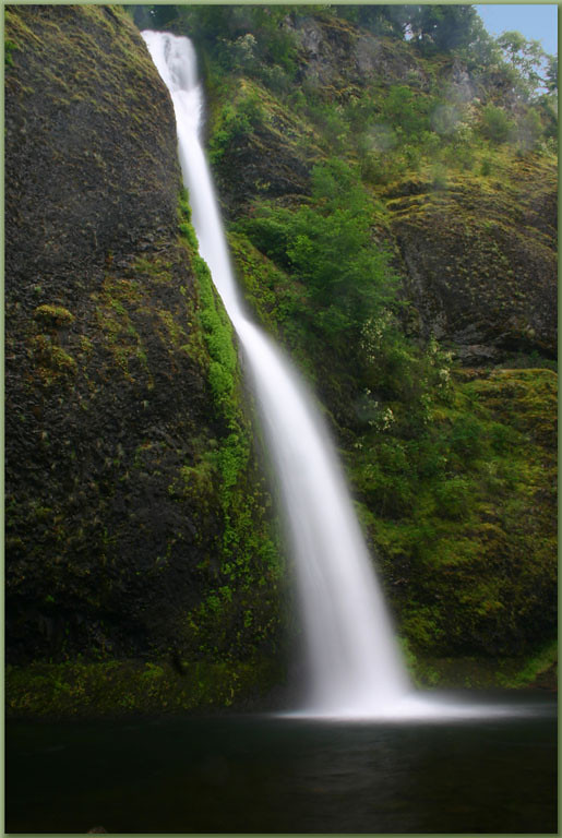 The Columbia Gorge has many beautiful waterfalls to be found just east of Portland.