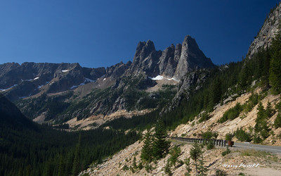 Liberty Bell, high in the Northern Cascades