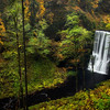 Autumn at silver creek falls, Oregon.