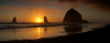 Cannon Beach Sunset with Haystack Rock
