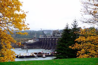 Oregon Travel Photography - Bonneville Dam -