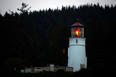 Umpqua River Lighthouse - Winchester Bay - Oregon Travel Photography - USA