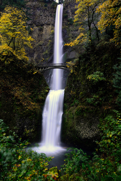 Multnomah Falls - Oregon Travel Photography - USA