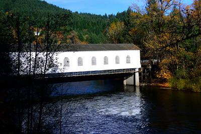 Goodpasture Road Covered Bridge - Oregon Travel Photography - USA