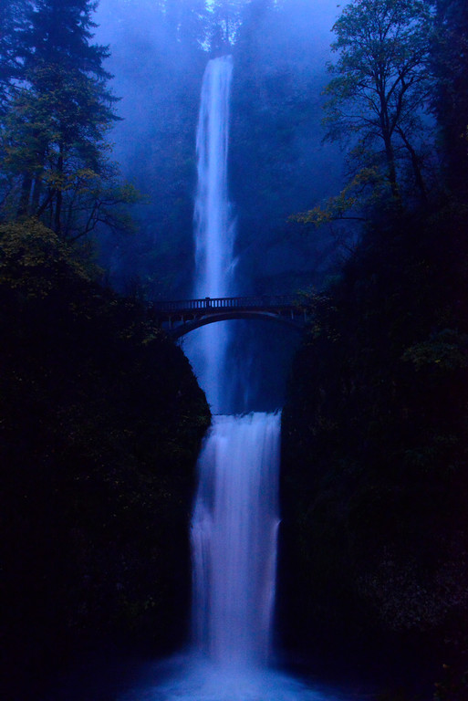 Oregon Travel Photography - Multnomah Falls