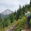 """PA"" hiking (chimping) near Mount Hood, OR<br /> September 4, 2009"