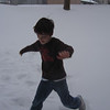 EVRETT HAVING FUN IN THE WINTER WEATHER...
