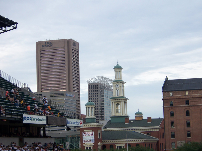 Closeup of the skyline.  Great view!