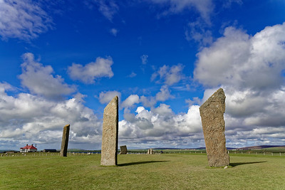 The Stones of Stenness, Orkney.