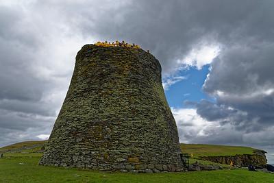 Mousa Broch, Shetland.