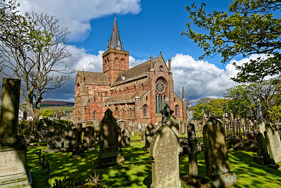 St. Magnus Cathedral, Kirkwall, Orkney.